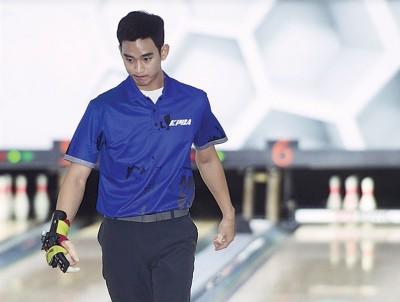 金秀贤复赛失去水准,比赛间也不时露出苦恼的表情。