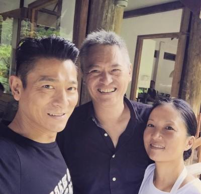 张子夫在其脸书发布了与刘德华在某有机农场的合照,让一众华迷甚为惊喜。