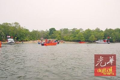 马莫河红树林目前刚奔联合国教科文组织申请当生物园保护区。