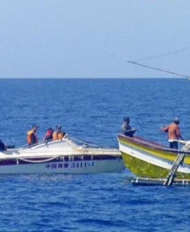 总统迪泰特呼吁菲律宾渔民放心作业。
