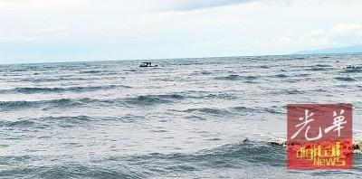 玻州海面于本月16日至19日,掀起浪潮。