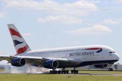 英航客机要在温哥华紧急降落。