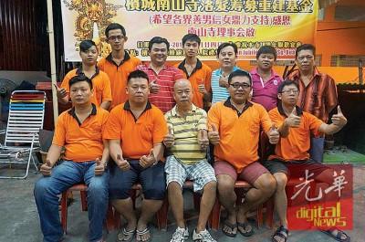 南山寺理事将落发要求各界关注该寺面对迁庙事件。