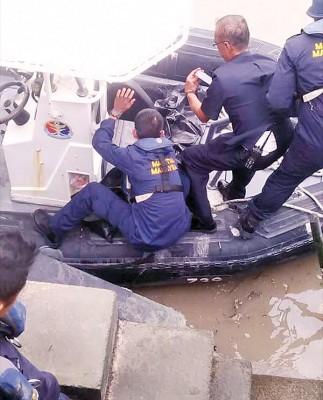 死者尸体被大马海事执法机构寻获。