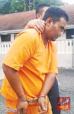 嫌犯被押往锡推事庭申请延扣。