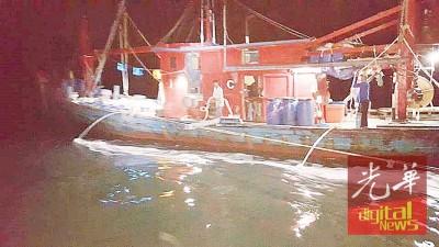 C级渔船在浅海捕鱼违反条例。