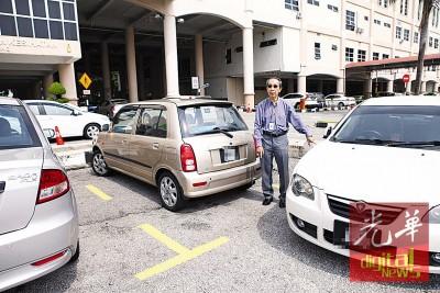 林敦良:槟城医院停车位严重不足,乱停车现象非常严重。