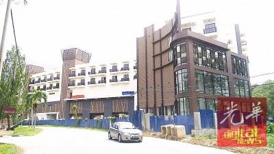 拉律山附近一新酒店即将竣工,预计明年可投入服务。