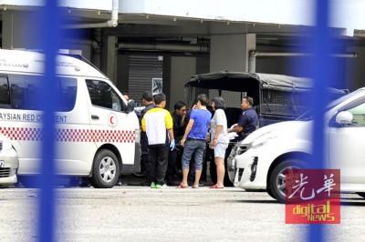 死者遗体被送往医院。