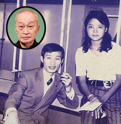 纪利男(左)跟邓丽君合照,今2人口都已无当凡间,不过留唏嘘。