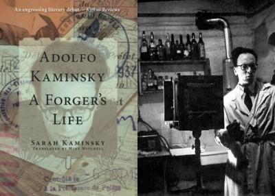 《卡明斯基:顶文书专家的毕生》英文版(左)近期问世。