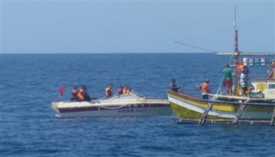 中国过往曾多次阻止菲律宾渔民于黄岩岛海域捕鱼。