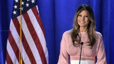 新白宫女主人梅拉妮亚。