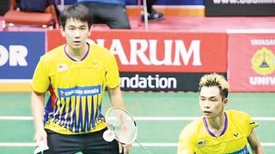 徐家铭/刘隽程瞄准第一座冠军。