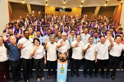 槟政府宣布正式推介槟州志愿巡逻团(BPS)。