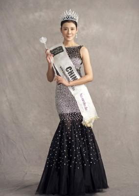 赵雅淇当年参选美后的宣传照。
