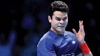 拉奥尼奇成功杀进半决赛。