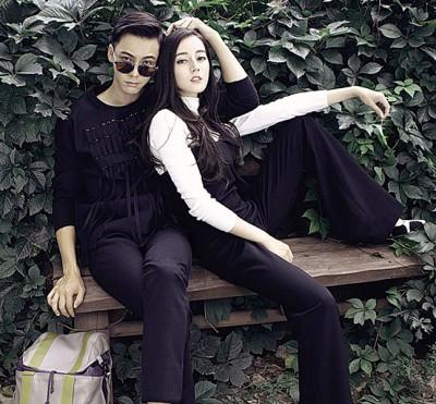陈伟霆和迪丽热巴因合拍电视剧《古剑奇谭》结缘。