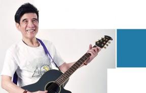 吉他的音色魅力,让叶佳修一辈子都为音乐着迷。