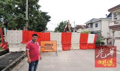 林庆祥:美兰园地底排污输送管爆裂7年终获维修。