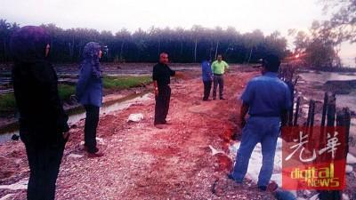 愈打瓜拉姆拉水患灾区海堤筑建工程顺利完成。