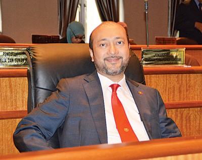 土著团结党亚依淡州议员拿督斯里慕克里。