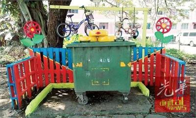 美化后的垃圾站,意外的受到市民爱惜。