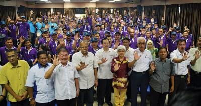 槟州政府宣布威省区槟州志愿巡逻团正式成立。