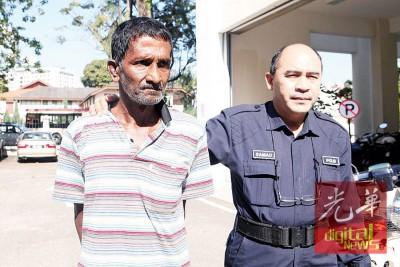 被告沙瓦占掳走一名11岁男童,被控上庭。