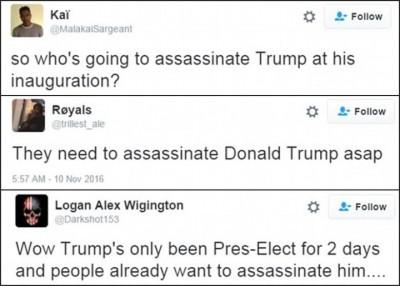 网民传言疑要干特朗普。