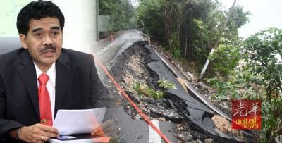 贾森尼:直落巴巷路线是自然灾害,并非因安装水管所致。