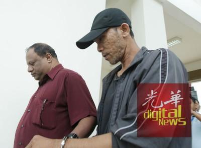 被告阿曼德(右)否认所有指控,案展至明年1月10日过堂。