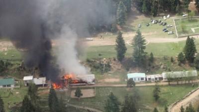 载有外国官员的巴基斯坦军方直升机去年坠毁。