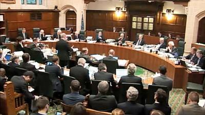 英国最高法院就脱欧是否需要经国会投票决定一行,拓展聆讯。(法新社照片)