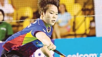 吴堇溦誓要增强体能以提高国际赛竞争力。