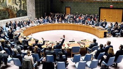 安理会通过要求以色列已殖民。(法新社照片)