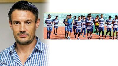 槟城足球队新主帅阿什利韦斯沃积极为球队创造前所未有的综合集训。