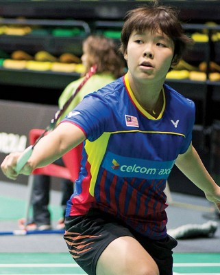 吴堇溦力争首次在女单登顶。