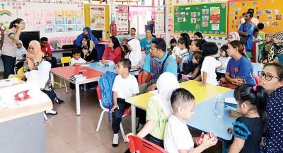 公益华小的学前教育班同样以友族生占多。