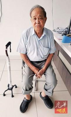 蔡亚亥腰椎骨盘不对称,无法负担长期医药费,冀望民众协助渡过难关。