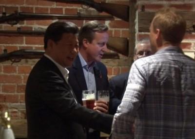 习近平与卡麦隆曾到访的乡村酒吧The Plough at Cadsden,被一家中资企业看中买下。