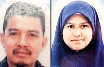死者莫哈末帕兹尔(本同中学教师)与女死者玛斯米瓦查(本同多比尔中学教师)。