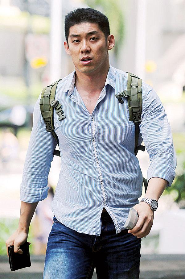 被告是36岁的股票交易员陈志翔。(档案照)