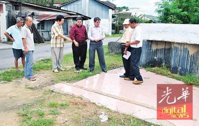 高渊老巴刹拿督公神龛临时地契问题已解决,将会原址重建。
