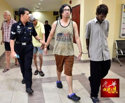 林伟伦(译音)周五被控上法庭。