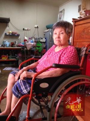 知悉爱孙车祸去世的消息后,外婆陈亚秀悲痛欲绝。