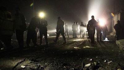 中华北部河北省非法烟花爆竹仓库发生爆裂。