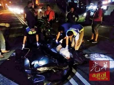 摩托车撞脚车,1死2名轻重伤。
