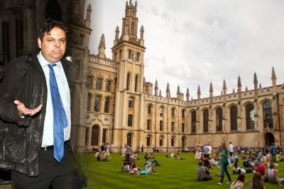 西迪基多年前毕业于牛津。
