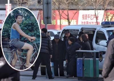 聂树斌(稍图)吃诬奸杀女子遭处决,冤案再审宣判,聂之家长周五参加听取结果。